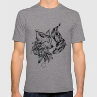 Fox B&W  Mens Fitted Tee Tri-Grey SMALL