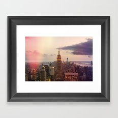 Skyline NYC Framed Art Print