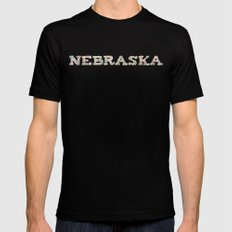 Nebraska Remembered Mens Fitted Tee Black SMALL