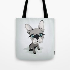 Bat French BullDog Tote Bag