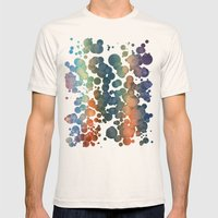 Effervescent Mens Fitted Tee Natural SMALL