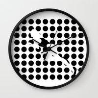 INVISIBLE WOMAN Wall Clock