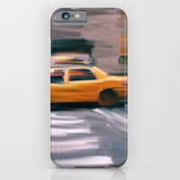 iPhone & iPod Case featuring Taxi Cab. by R.Bongiovani