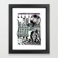 Teenage Dreams Framed Art Print