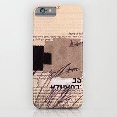 BOOKMARKS SERIES pg 374 iPhone 6s Slim Case