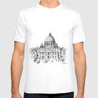 T-shirt featuring Basilica Di S. Pietro A … by Luca Massone
