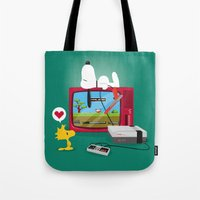 Duck Game Tote Bag