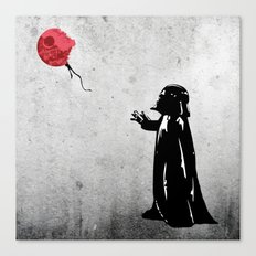 Little Vader - Inspired … Canvas Print
