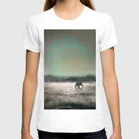 Spinning Out Of Nothingn… Womens Fitted Tee White SMALL