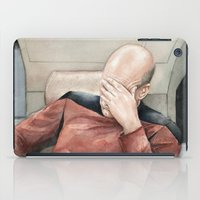 Picard Facepalm Meme iPad Case