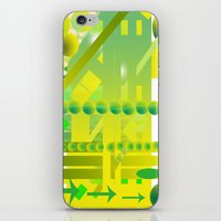 geometric forms iPhone & iPod Skin