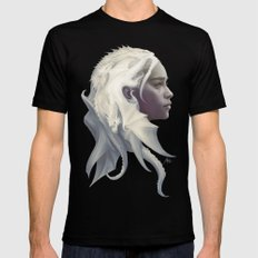Mother of Dragons Mens Fitted Tee Black SMALL