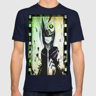 GHOUL Mens Fitted Tee Navy SMALL