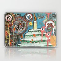 I Love Cake!  Laptop & iPad Skin