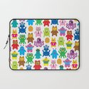 Monsters and Aliens Laptop Sleeve