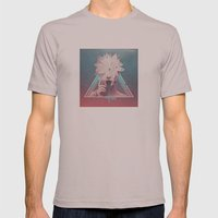 dark flower Mens Fitted Tee Cinder SMALL