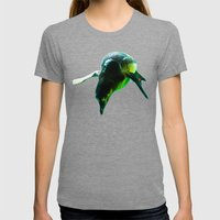 Dive 2 Womens Fitted Tee Tri-Grey SMALL