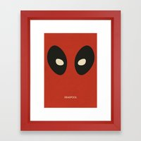 Deadpool Framed Art Print