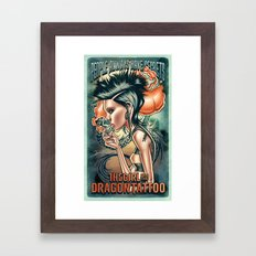 Lisbeth Salander Framed Art Print