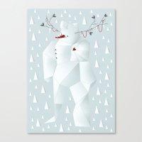 Winter Freez Canvas Print