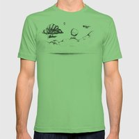 the crossing Mens Fitted Tee Grass SMALL