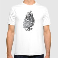 Transplantation I Mens Fitted Tee White SMALL