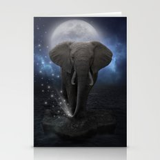 Power Is No Blessing In Itself  (Protect the Elephants)  Stationery Cards