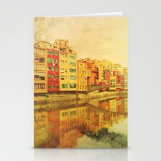 The river that reflects the city Stationery Cards