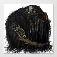 Gravelord Nito - Dark So… Canvas Print