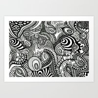 Loopy Art Print