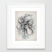 Framed Art Print featuring The Baltic Sea by David Fleck