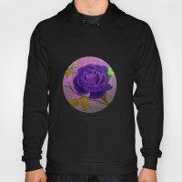 Purple Rose  Hoody