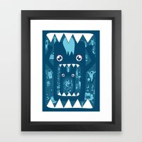 Full. Framed Art Print