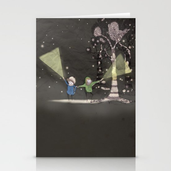 Night time Stationery Card