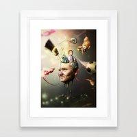 Mental Age Framed Art Print