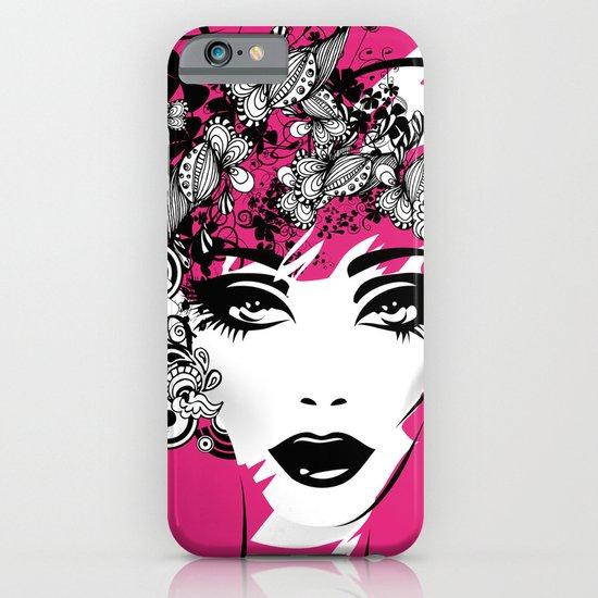 fashion illustration iPhone & iPod Case