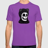 I Came Here To Take You … Mens Fitted Tee Ultraviolet SMALL