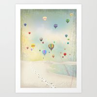balloon day Art Print