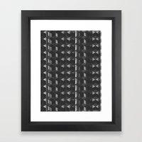 Burnt Out Noir Framed Art Print