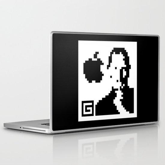 QR- Jobs Laptop & iPad Skin