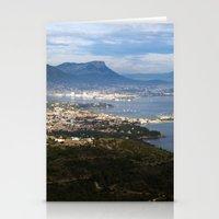 Toulon France 6817 Stationery Cards
