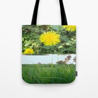 Grass Dandy Tote Bag