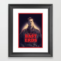 Inglourious Basterds Pos… Framed Art Print