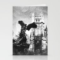 Stationery Cards featuring Archangel Michael by Evan Morris Cohen