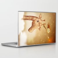 star Laptop & iPad Skins featuring Star by José Luis Guerrero