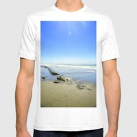 Into the Sea Mens Fitted Tee White SMALL