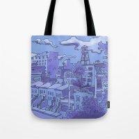 Brooklyn View Tote Bag