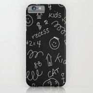 iPhone & iPod Case featuring School Teacher #5 by Juliana RW