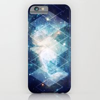iPhone & iPod Case featuring Shining Nebula - Blue by Stefan Trudeau