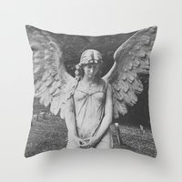 Angel no. 2 Throw Pillow